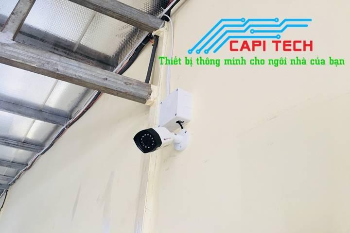 Lắp đặt camera giám sát tại Bình Chánh