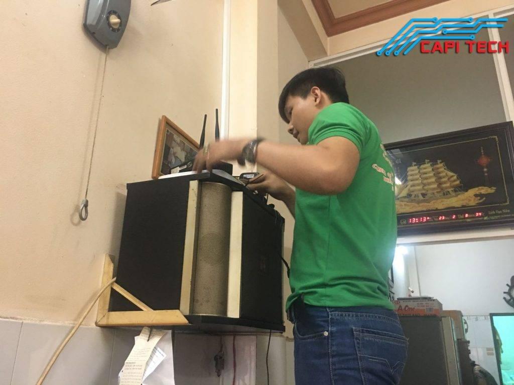 Capi Tech lắp đặt camera IP tại quận 8