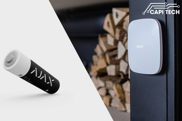 Hệ thống báo trộm cao cấp Ajax