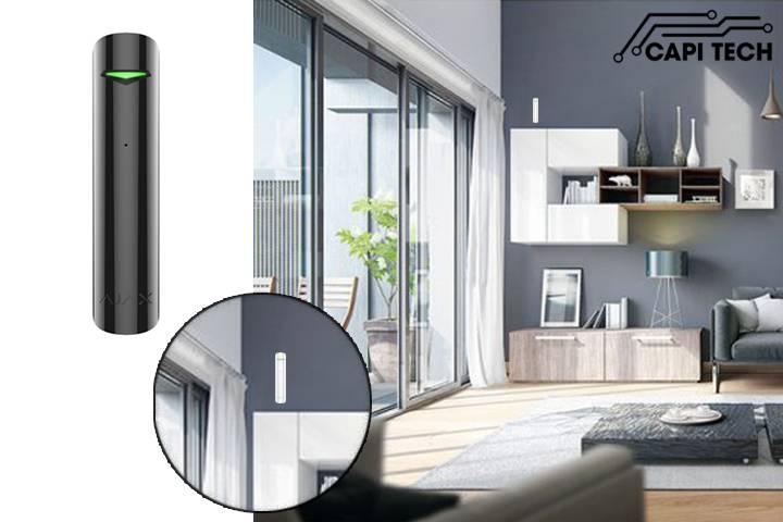 Cảm biến kính vỡ không dây Ajax - Glass Protect -capitech.vn