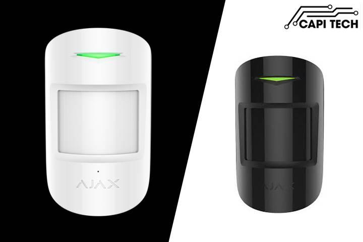 Cảm biến hồng ngoại kết hợp báo kính vỡ Ajax - CombiProtect- capitech.vn