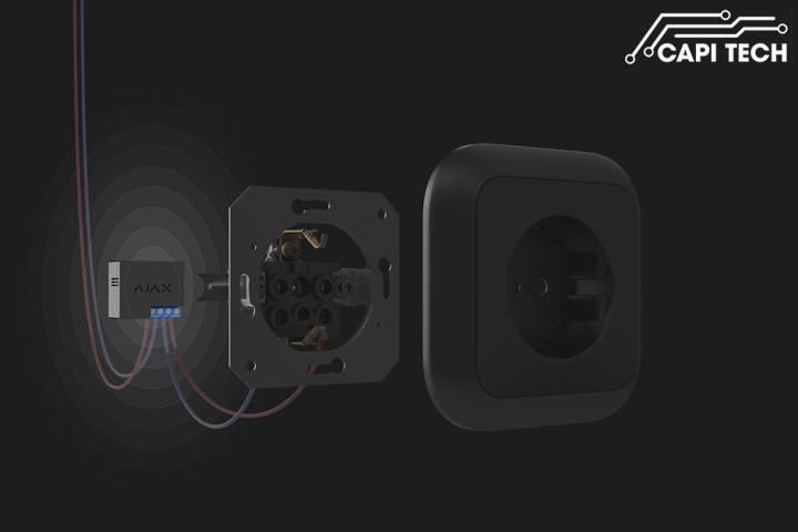 Rơ le không dây Ajax- Socket- capitech.vn