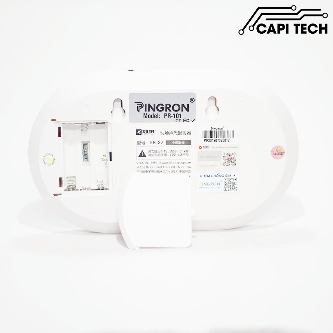 thiết bị chống trộm gia đình pingron pr101