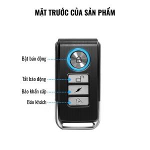 remote cảm biến chống trộm cửa pr c03 pingron