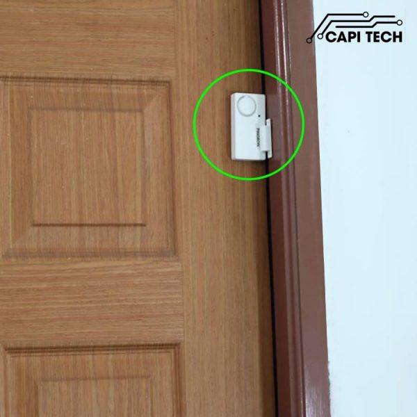 thiết bị chống trộm gắn ở cửa