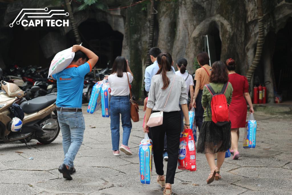 công ty capi tech đến chùa Kỳ quang capitech.vn