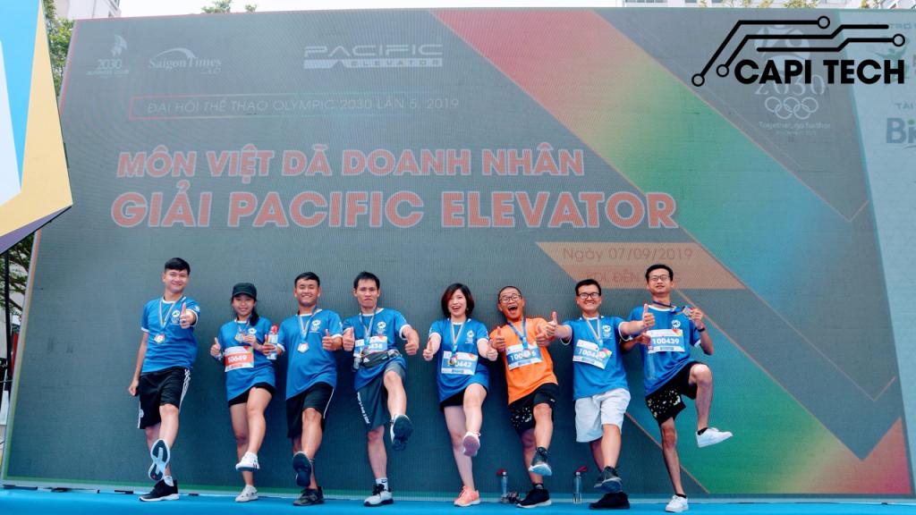 Capitech tham gia giải việt dã doanh nhân OLYMPIC 2030