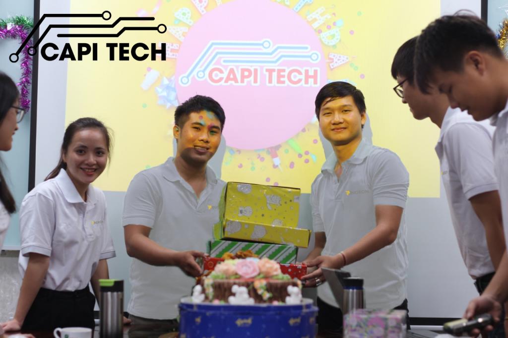 Capitech tổ chức sinh nhật cho bộ phận bán hàng