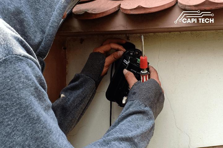chống trộm tia quang điện