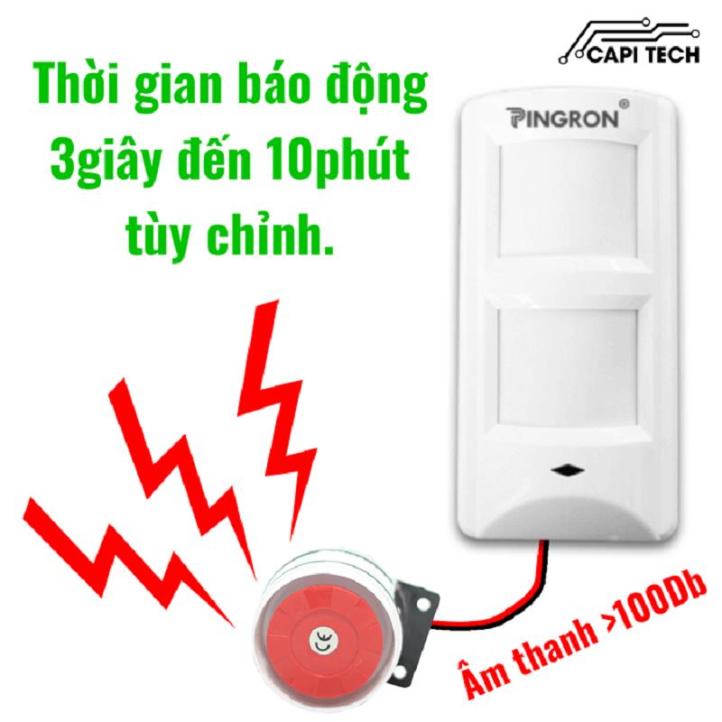 Công ty Capi Tech- Mang tới giải pháp chống trộm hiệu quả