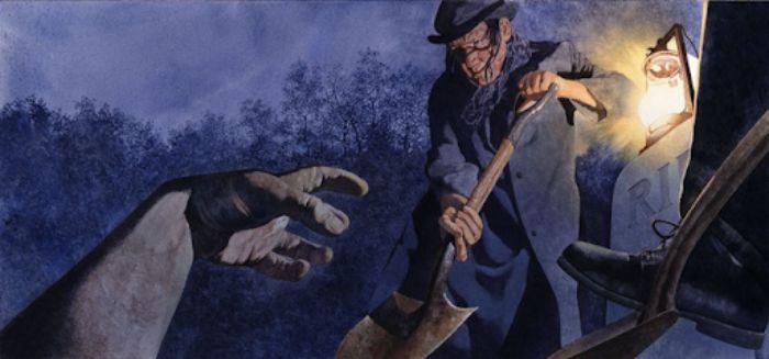 Trộm mộ là hành vi vô cùng thiếu đạo đức
