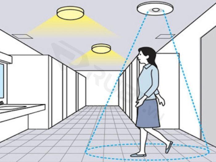 Cảm biến hồng ngoại có thể phát hiện chuyển động của người
